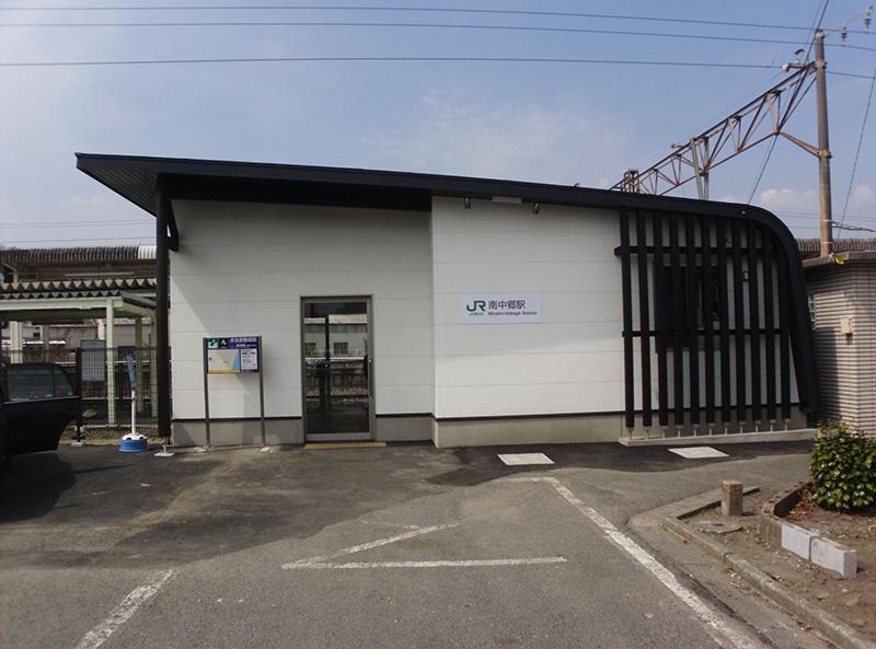 JR常磐線 南中郷駅